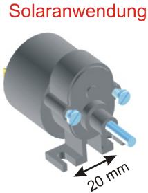 Motor RF 300 mit Getriebe 9:1
