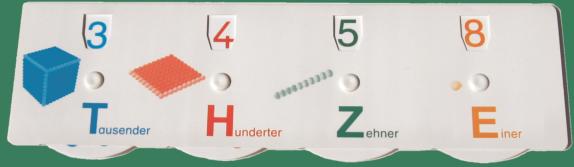 Stellenwerttafel (Lehrergerät)