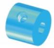 Stellring mit Gewinde - Material Aluminium