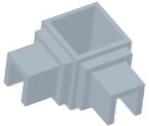 Verbinder - rechtwinklig