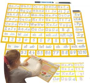 Übungsunterlage Deutsch-Mathe (Vereinfachte Ausgansschrift)